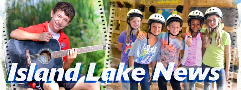Island Lake Camp News