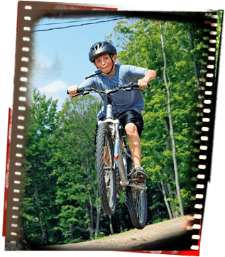 Mountain Biking at Camp